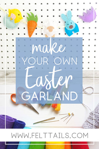 Make your own Easter garland Pin it