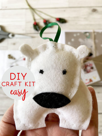 Polar Bear DIY Craft Kit