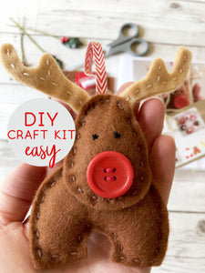 Rudolph Reindeer DIY Craft Kit
