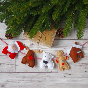 Christmas Gingerbread Man Felt Kit