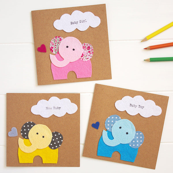 New baby greetings cards