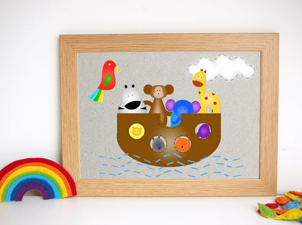 Noah's Ark Nursery Artwork