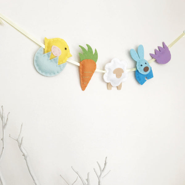 PDF Sewing Pattern Easter Garland