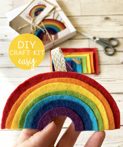 Rainbow sewing kit