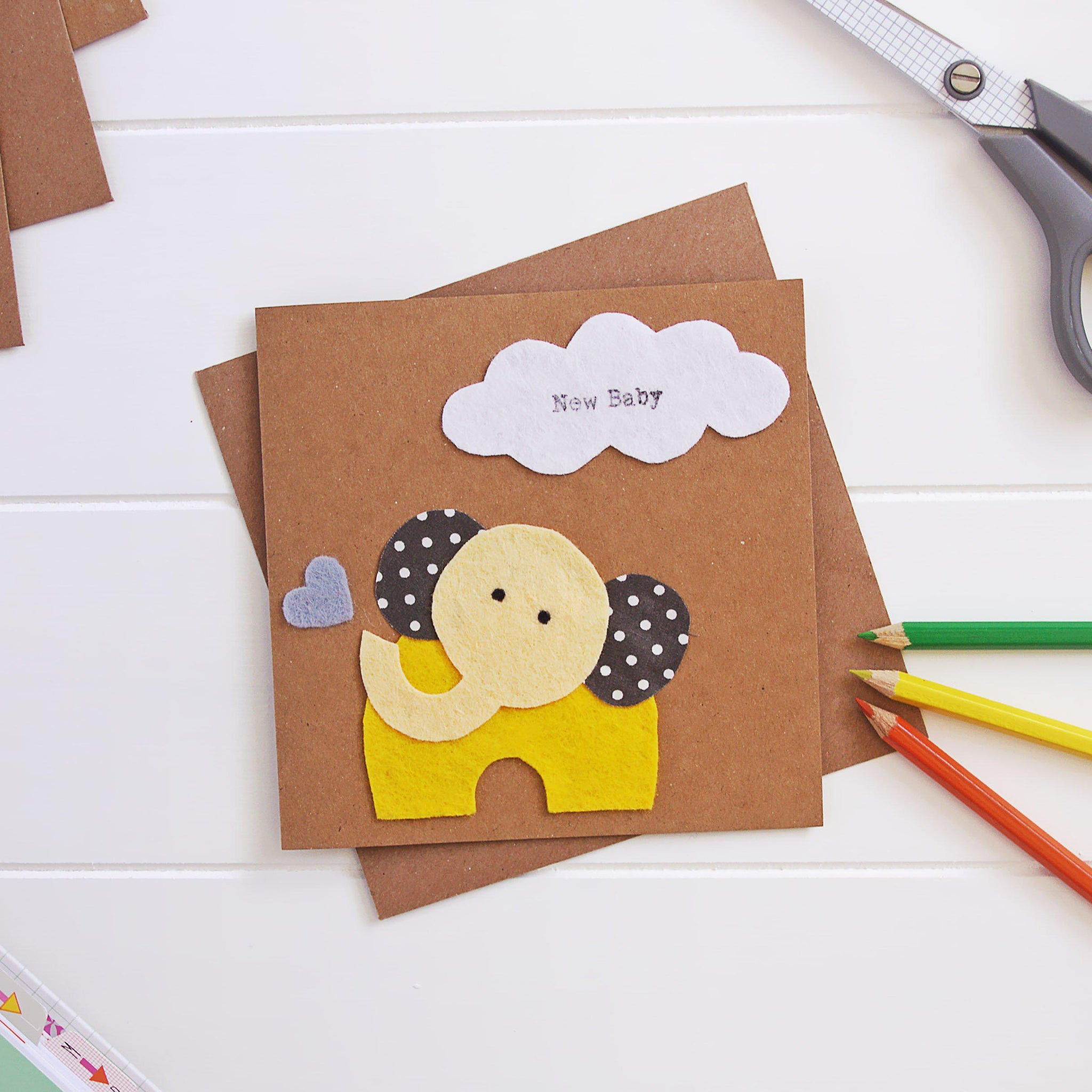 Card for Newborn Baby