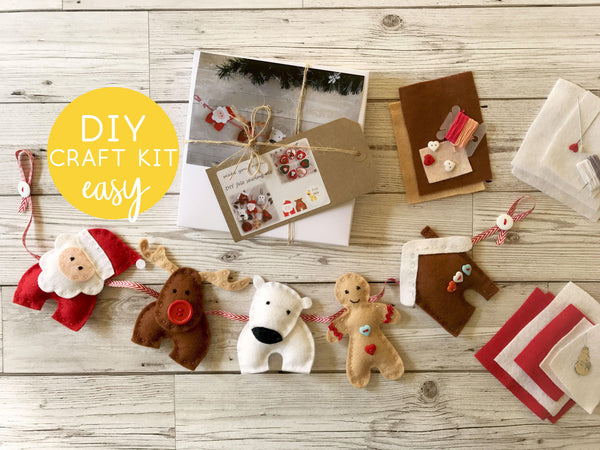 Felt Holiday Decor Sewing Kit