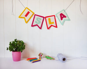 Personalised Nursery Name Bunting