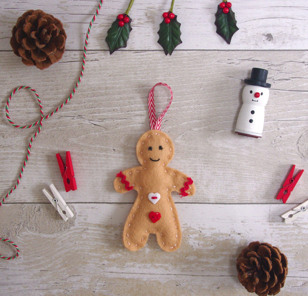 Gingerbread Holiday decor