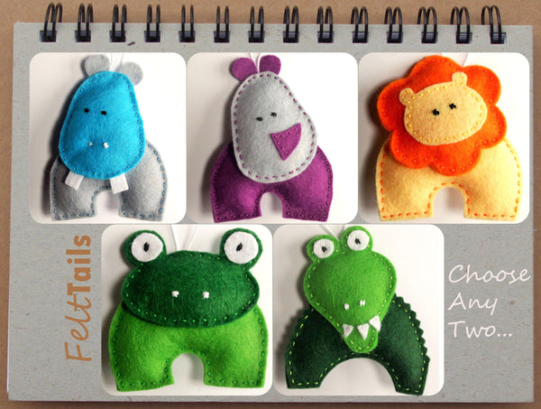 Felt animal options