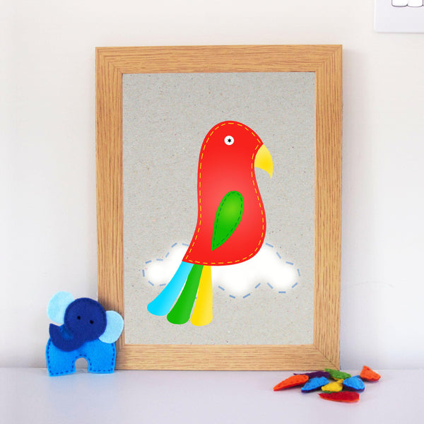 Parrot Playroom Artwork