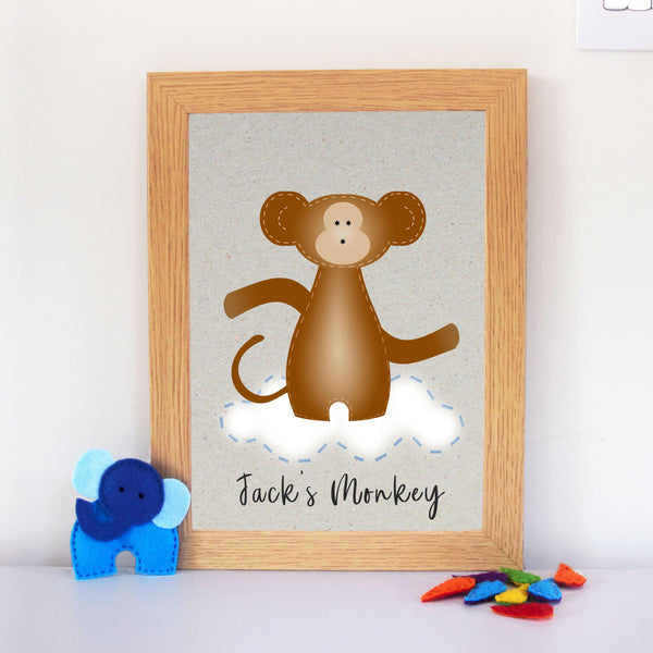 Monkey Artwork Printable