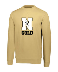 "Nebraska Gold - ""309"" Moisture Wicking Crewneck Sweatshirt"