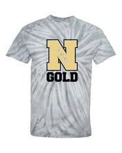 "Load image into Gallery viewer, Nebraska Gold - ""309"" Tie Dye T-Shirt"