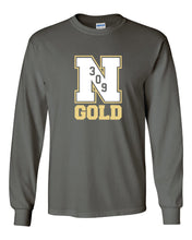 "Load image into Gallery viewer, Nebraska Gold - ""309"" Long Sleeve T-Shirt"
