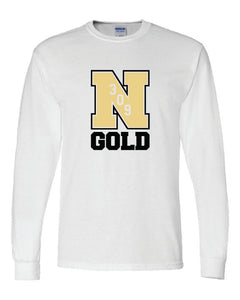 "Nebraska Gold - ""309"" Long Sleeve T-Shirt"