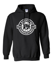 Load image into Gallery viewer, Duey's - I survived Coronavirus 2020 Hoodie Sweatshirt