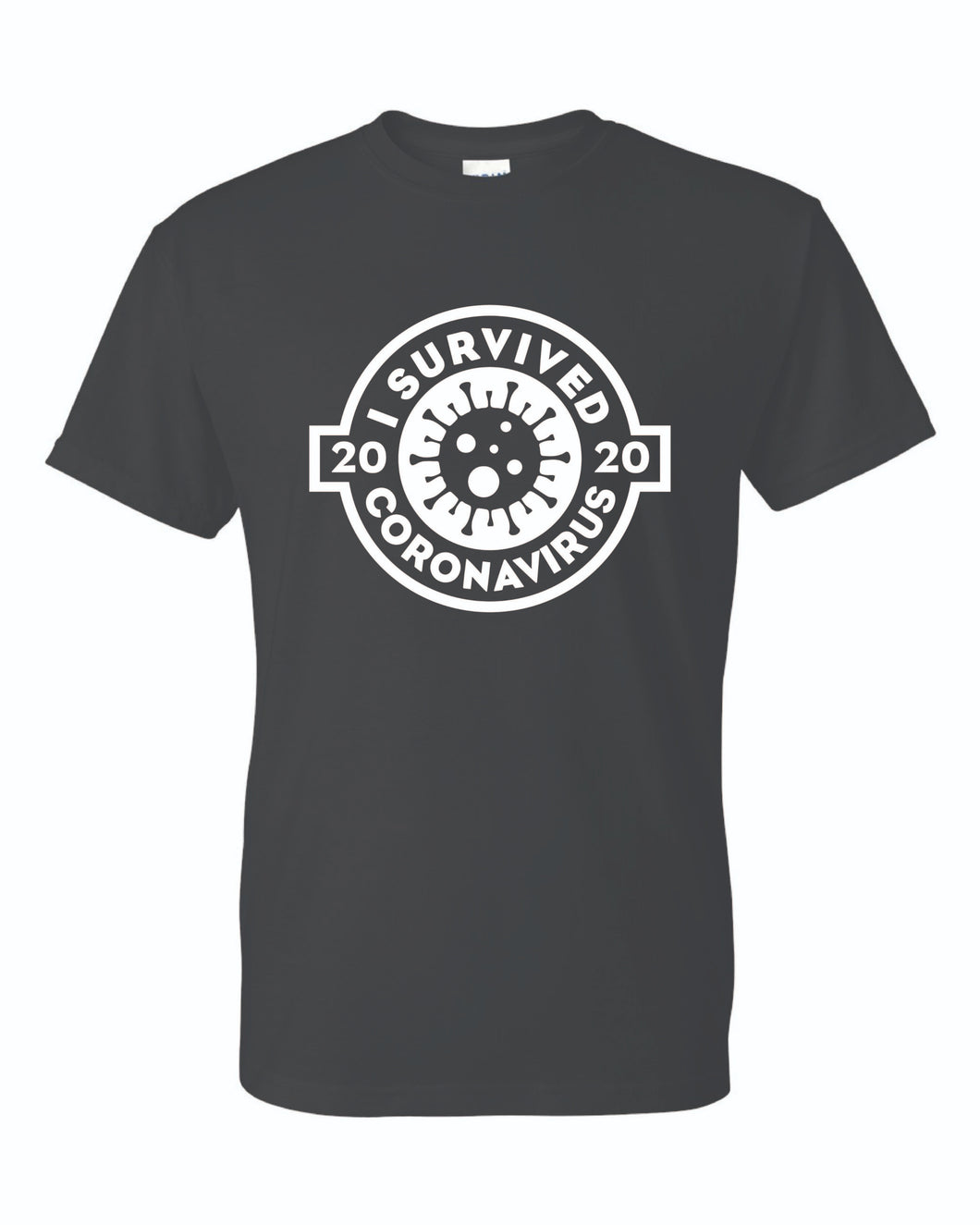 Peacock's - I survived Coronavirus 2020 Short Sleeve T-shirt