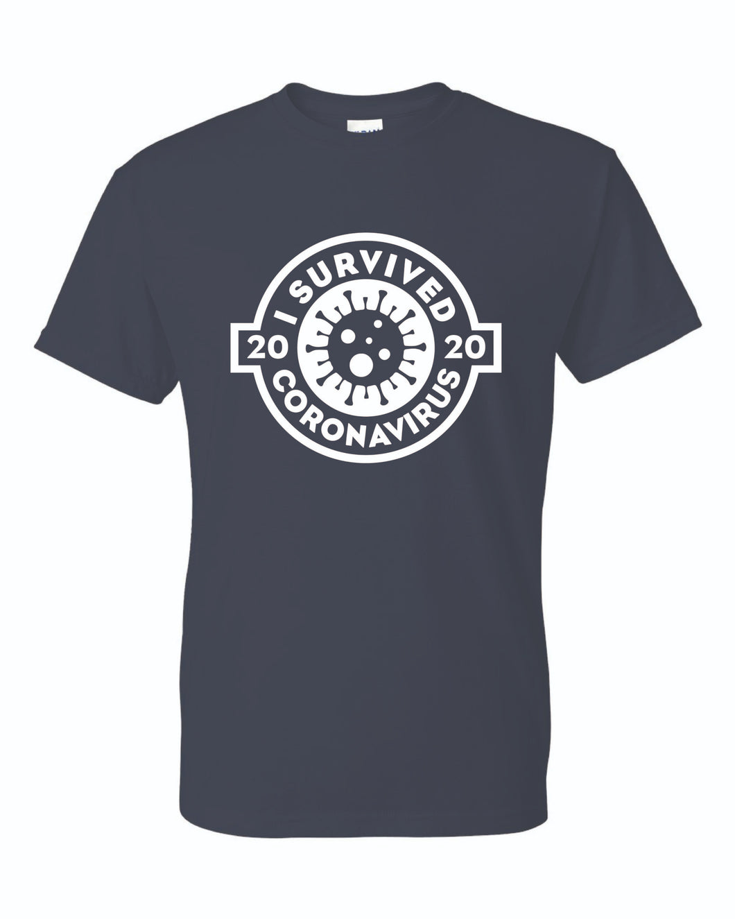 Waystation's - I survived Coronavirus 2020 Short Sleeve T-shirt