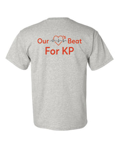Our Hearts Beat For KP - Short Sleeve T-Shirt