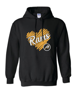 "Riverdale PTO ""Rams Golden Heart"" Pullover Hoodie"