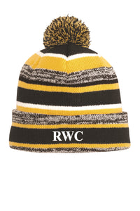 Riverdale Wrestling Club Stocking Hat Black and Gold