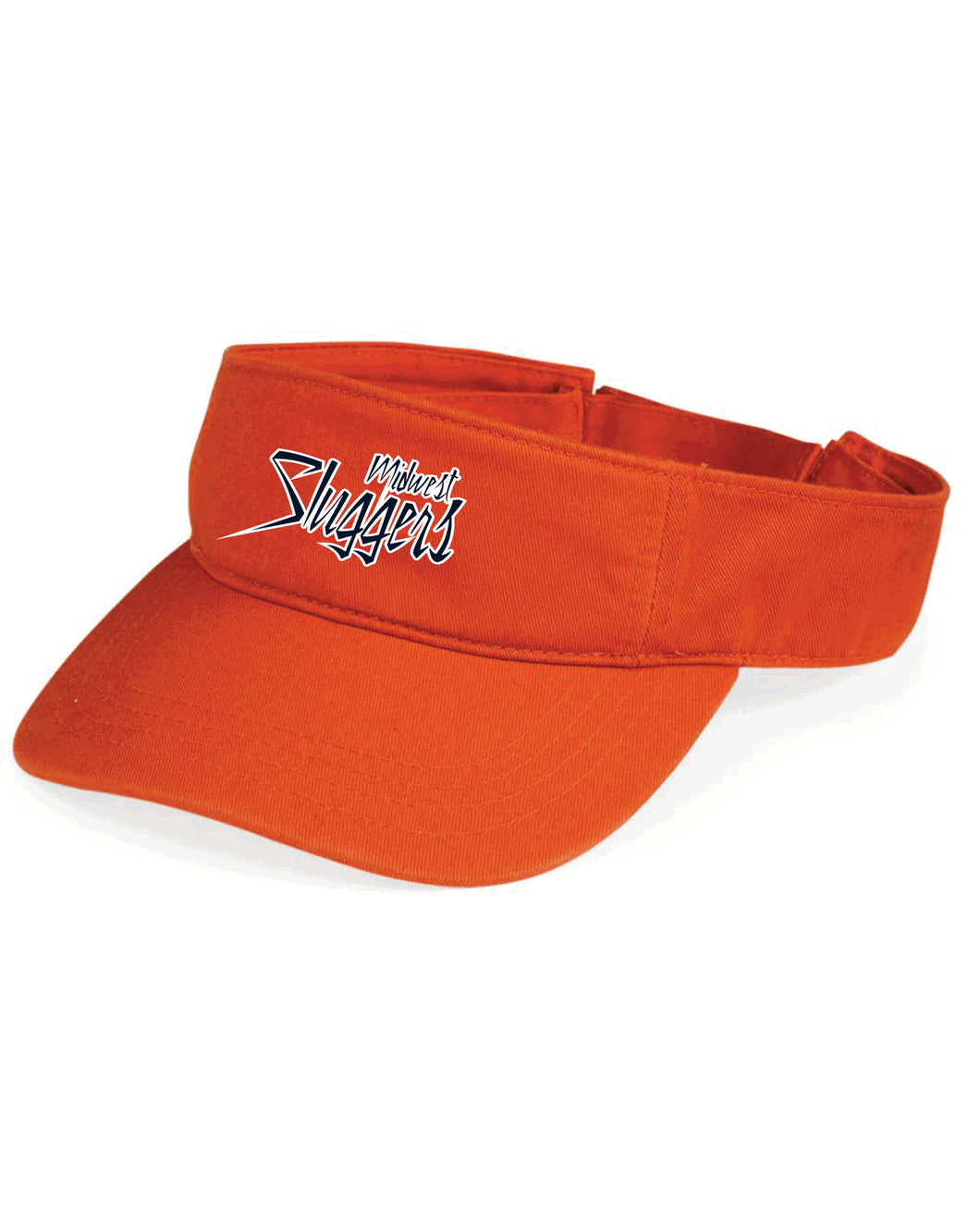 Midwest Sluggers Visor - Orange