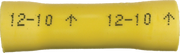 Butt Connector - Vinyl Insulation  - 12-10 Gauge