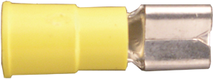Quick Slide Connectors - Vinyl Insulated - Yellow - 12-10 Gauge