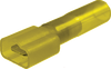 "Quick Slide -Heat Shrink -.250"" Tab- 12-10 Gauge Yellow"