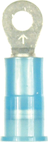 Ring Terminal - Nylon Insulation - Blue - 16-14 Gauge