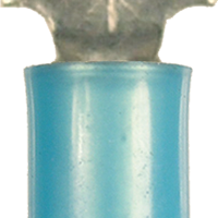 Spade Terminal - Non-Insulated - Blue -16-14 Gauge