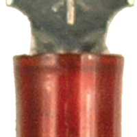 Spade Terminal - Non-Insulated - Red - 22-18 Gauge