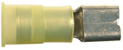 Quick Slide Connectors - Nylon Insulated - Yellow - 12-10 Gauge