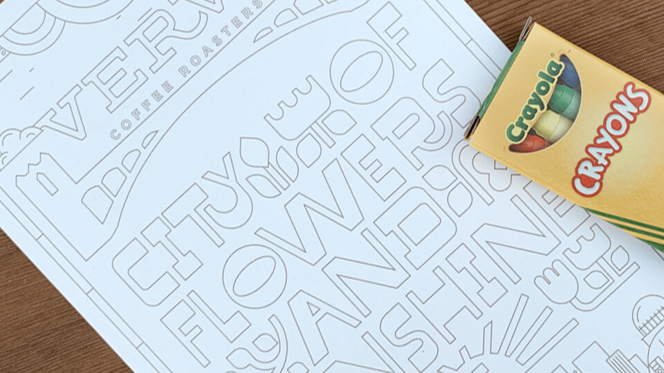 Printable Coloring Pages - Verve Coffee Roasters