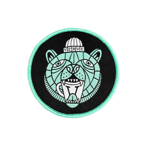 Verve Bear Necessities Embroidered Patch