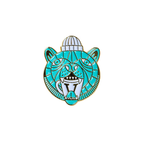 Verve Bear Necessities Enamel Pin