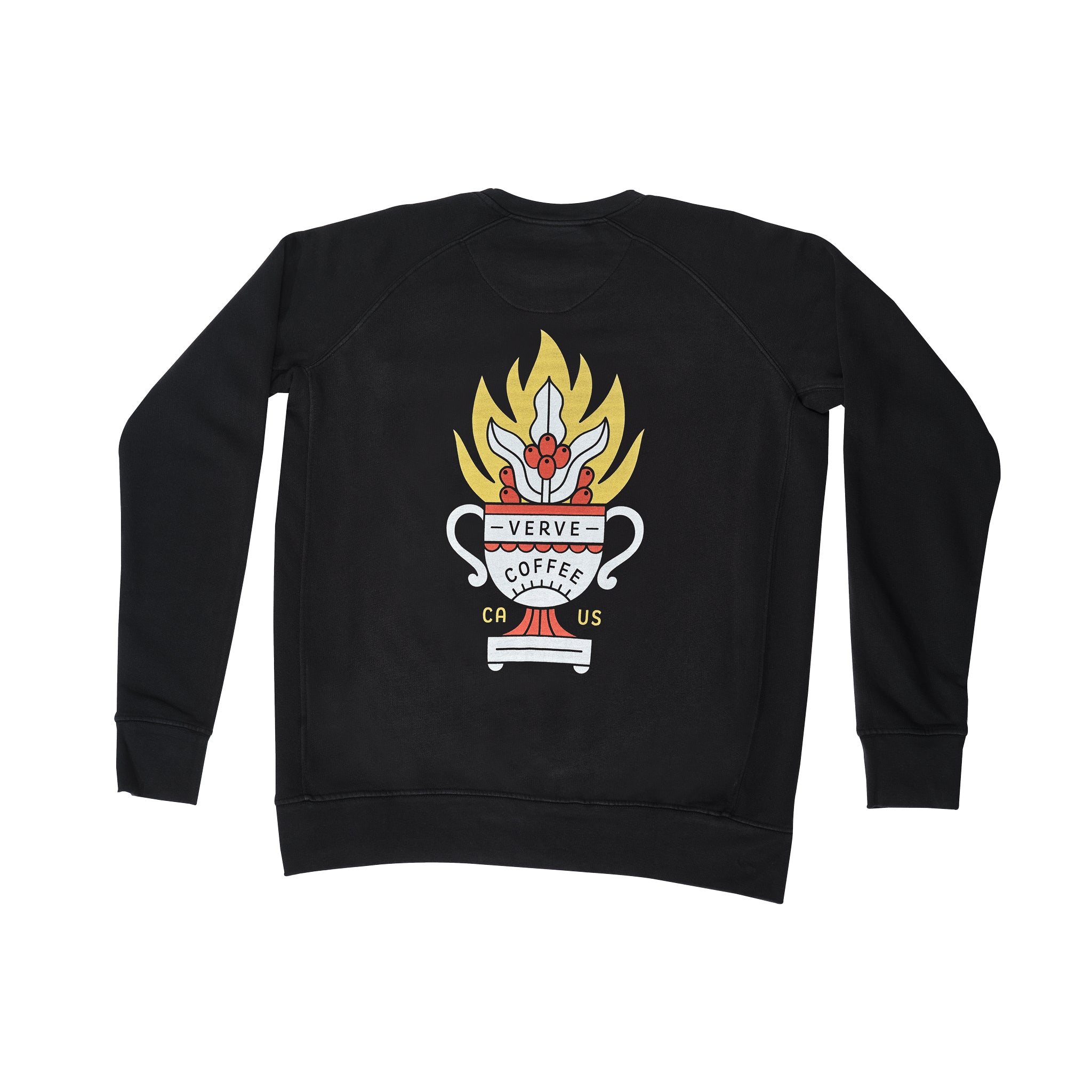 The Fuego Pocket Crewneck