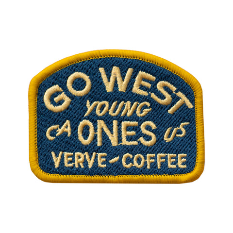 Go West Embroidered Patch