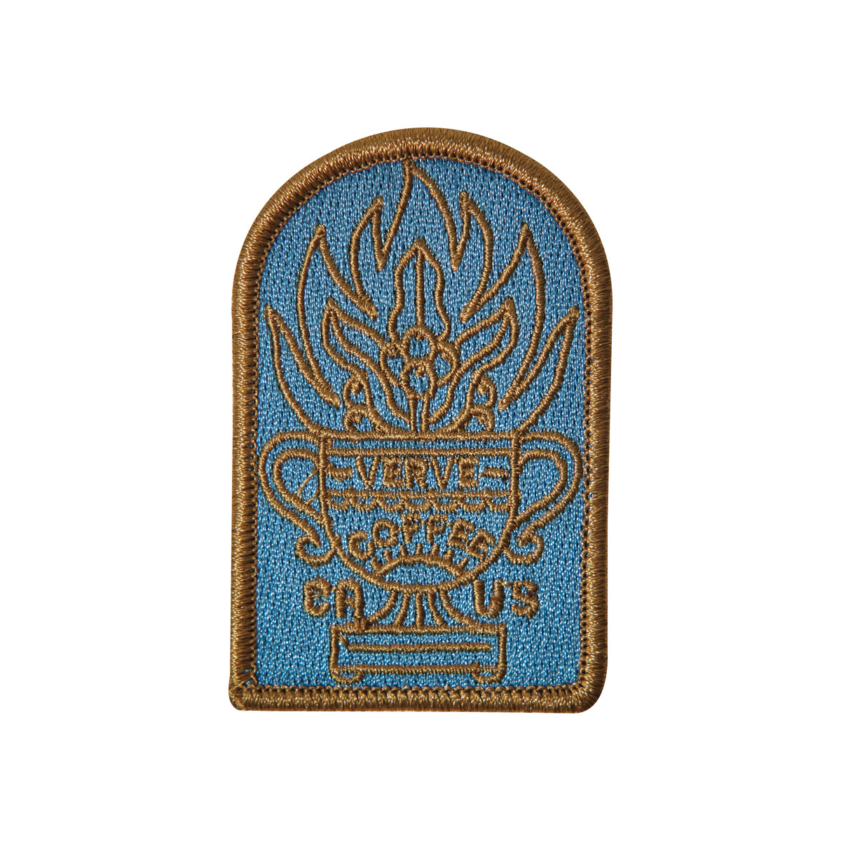 Fuego Embroidered Patch