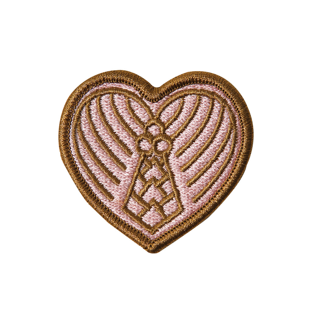 Heart of Palm Embroidered Patch