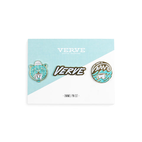 Verve Summer Enamel Pin Set