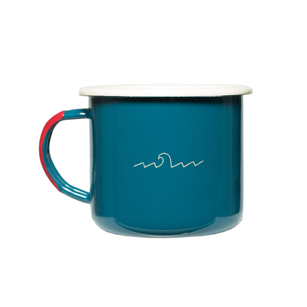 Skyline to Sea Camping Mug