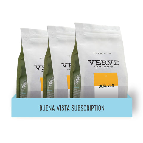 Buena Vista Dark Roast Subscription - Verve Coffee Roasters
