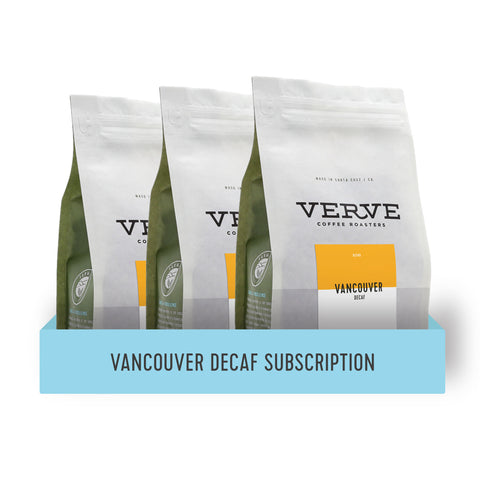 Vancouver Decaf Subscription -
