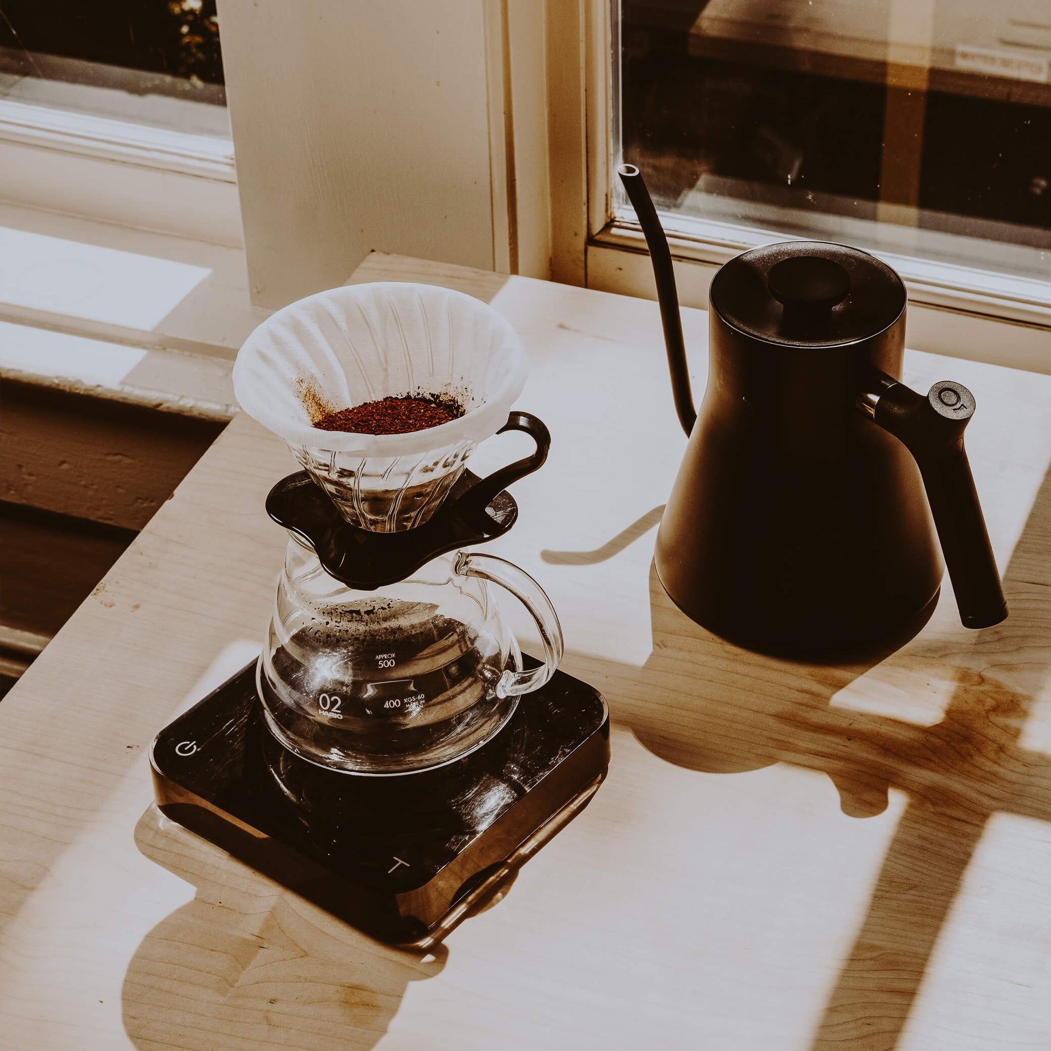 Hario V60 Glass Coffee Dripper
