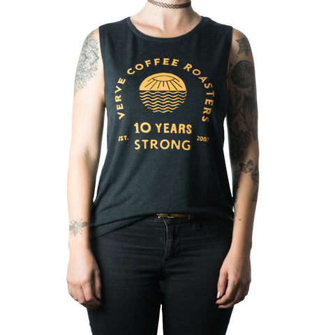 Verve 10 Years Strong Women's Tank Top