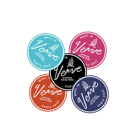 Verve Campfire Sticker Pack 5pk.