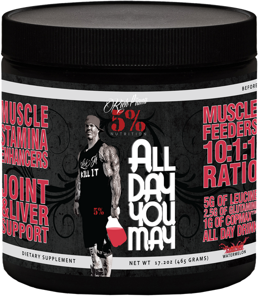 Rich Piana 5% All Day You May
