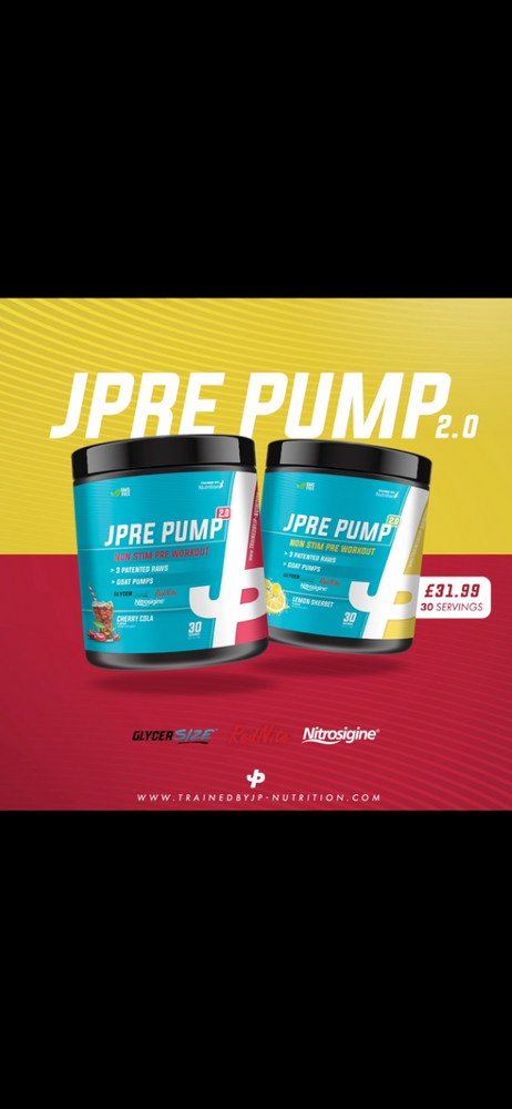 TrainedByJP Pump 2.0