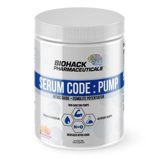 Biohack Pharmaceuticals Serum Code: Pump